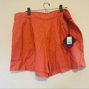 Ava Viv plus size shorts